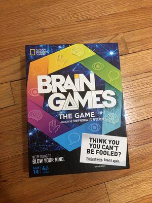 Brain Games Board Game for Sale in Chicago, IL