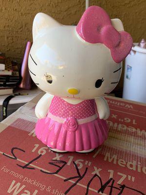 Hello kitty piggy bank for Sale in Tempe, AZ