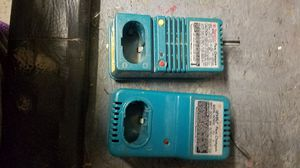 2 Makita charges different models for Sale in Long Beach, CA