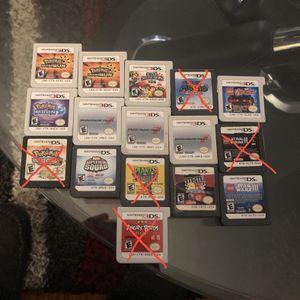 3ds Game Lot Console Etc for Sale in Addison, IL