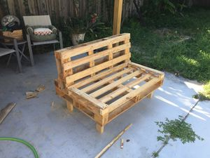 Pallet furniture. Indoor/outdoor for Sale in West Palm Beach, FL