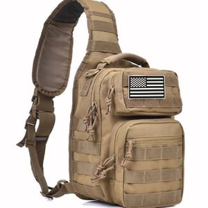 Khaki Tactical Sling Bag With Flag Patch - New for Sale in Happy Valley, OR