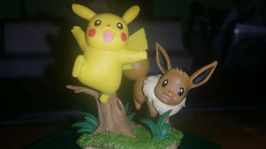 Official Pokemon Pikachu & Eevee Collectible Figure for Sale in St. Petersburg, FL