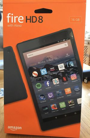 Brand New Kindle fire HD 8 with Alexa 16g for Sale in Colton, CA
