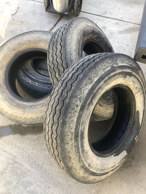 "Heavy duty trailer tires for 16"" rims 235 80 16 or 7.50-16 for Sale in La Mesa, CA"