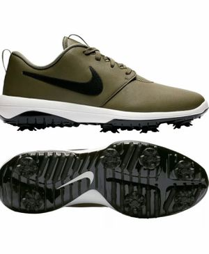 New! Nike Roshe G Tour Golf Shoes AR5580-200 Olive/Black Sz 11.5 for Sale in Tamarac, FL