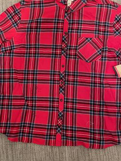 New!!! 3x Flannel Long Sleeve Blouse for Sale in Baltimore,  MD