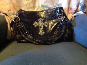 Genuine black leather purse for Sale in Holdrege, NE