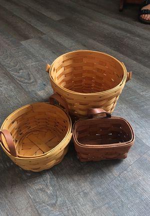 Longaberger baskets for Sale in Social Circle, GA