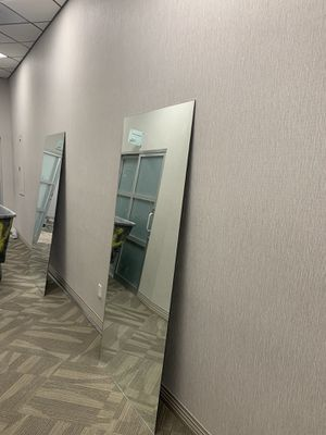 "2 full size mirrors 86"" height for Sale in Las Vegas, NV"
