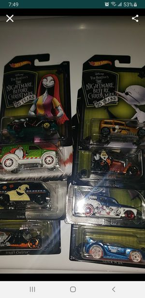 Hot wheels nightmare before christmas for Sale in Anaheim, CA