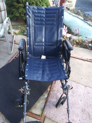 Invacare Tracer SX5 adjustable back wheelchair for Sale in Oak Lawn, IL