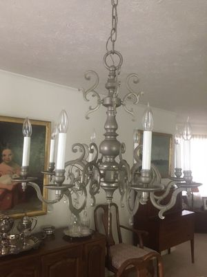 Pewter chandelier for Sale in Verona, PA