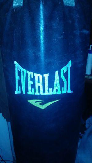 Everlast punching bag for Sale in Burbank, WA