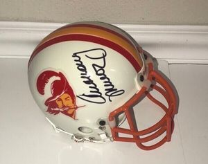 Anthony Munoz Tampa Bay Buccaneers Signed Mini Helmet RARE for Sale in Port St. Lucie, FL