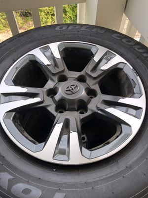 Toyota Tacoma stock rims and TOYO tires for Sale in Oceanside, CA