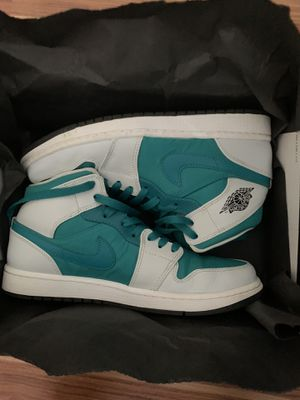 Nike Air Jordan 1 Retro Mid Lush Teal for Sale in Puyallup, WA