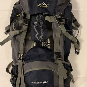 HWJIANFENG 80l Outdoor Backpack 🎒 for Sale in Fort Lauderdale, FL