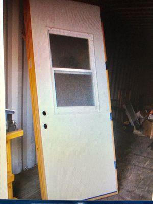 NEW PREHUNG STEEL EXTERIOR DOOR 95 x 36 for Sale in Laveen Village, AZ