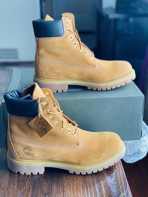 NEW Premium Wheat Timberlands Men Size 7/Women's Size 8.5 for Sale in Detroit, MI