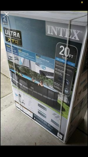 New 20x48 Intex Ultra XTR Frameworks Deluxe Frame for Sale in La Grange Park, IL