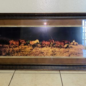 Horse Picture Frame for Sale in Phoenix, AZ