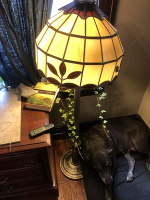 Antique Glass Lamp for Sale in St. Louis, MO