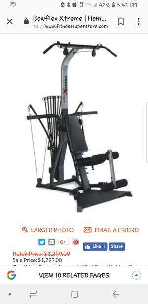 Bowflex Xtreme Home Gym for Sale in Lithia Springs, GA