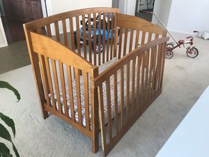 Convertible infant/toddler crib for sale [$80 OBO] for Sale in Wylie, TX