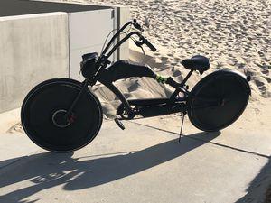 Castom electric ⚡️ stretched Bike for Sale in Santa Monica, CA