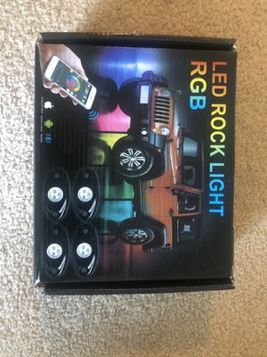 LED Rock Light Kits with 6/8 Pods RGB Lights for Sale in Hinsdale, IL