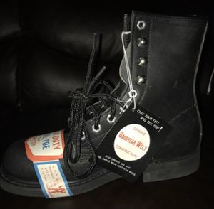 Boots steel toe heavy duty gorilla boots for Sale in San Diego, CA