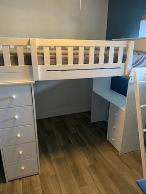 Bunk bed with Desk for Sale in Phoenix, AZ