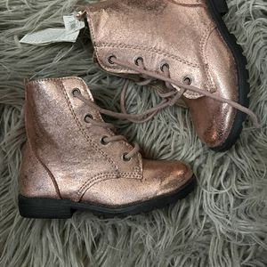 Baby Gap Rose Gold Boots Toddler Girl Size 9 New for Sale in Huntington Beach, CA