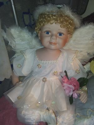 Big size doll she mark mint condition Angel for Sale in Murfreesboro, TN