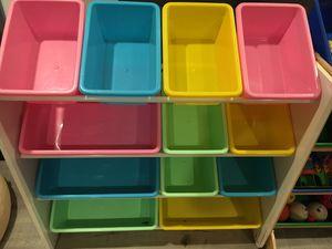 Kids storage box bin toys for Sale in Moreno Valley, CA