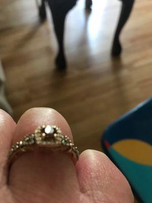 Levian chocolate diamond ring for Sale in Glen Daniel, WV