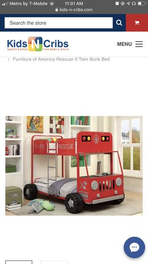 Firefighters bunk bed for Sale in Wauwatosa, WI