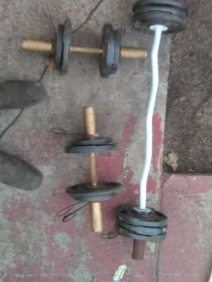 Weight set for Sale in Victoria, TX