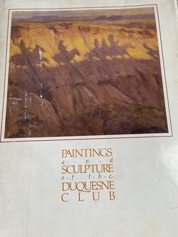 Paintings And Sculpture Of The Duquesne Club Pittsburgh Pennsylvania for Sale in Pittsburgh,  PA