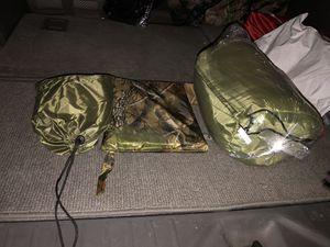 THE ZULU ZULU BOX RAIN PONCHO, SLEEPING BAG, MOSQUITO NET for Sale in Las Vegas, NV