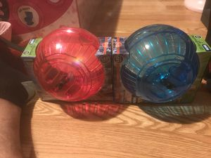 Led run - about ball 7 inches for hamsters and gerbilles for Sale in Everett, MA