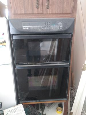 Combo set. Kitchen aid microwave& oven for Sale in Wimauma, FL