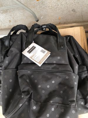 New with tags laptops backpack black polka dot for Sale in Houston, TX