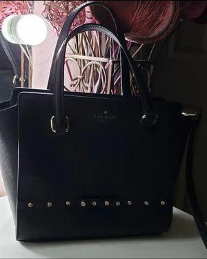 Kate Spade♠️Black Purse. Handbag with Rhinestone Bow for Sale in Phoenix, AZ