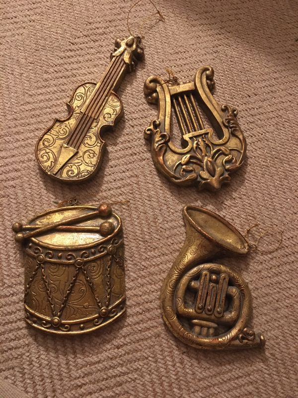 Christmas ornament-musical instruments