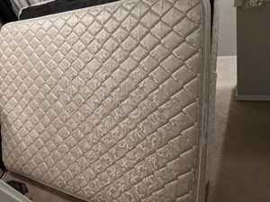 Queen-size Mattress and Box Spring. for Sale in Maple Valley, WA