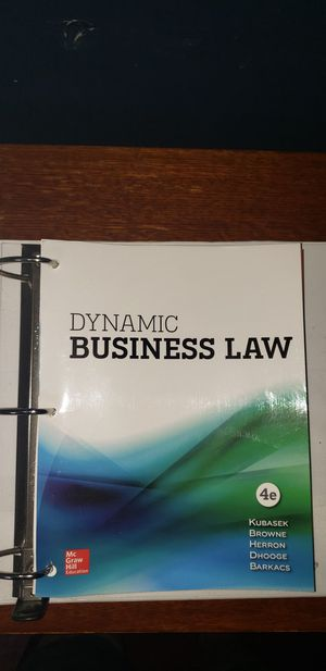 Dynamics business law in excellent condition for Sale in The Bronx, NY