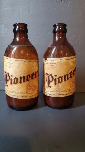 Antique Beer Bottles for Sale in Steilacoom, WA