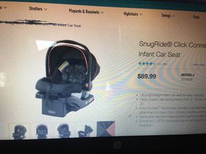 Graco snugride 30 infant car seat for Sale in Orange, CA
